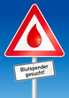 Blutspender gesucht