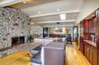 Luxury mohogany Kitchen with modern furniture