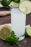 Fresh made Lime Juice
