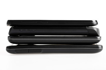 Four smartphones