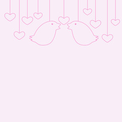 St Valentine's Day greeting card