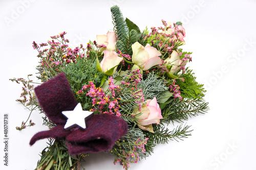 Weihnachtliches Trauergesteck