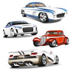 Sportwagen - Kollektion
