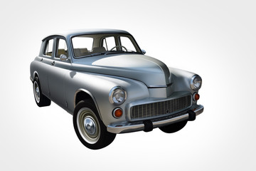 An old polish car warszawa