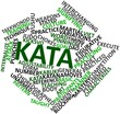 Word cloud for Kata