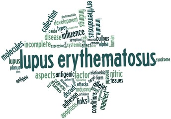Word cloud for Lupus erythematosus