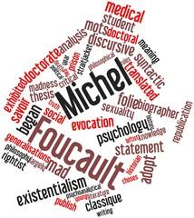 Word cloud for Michel Foucault