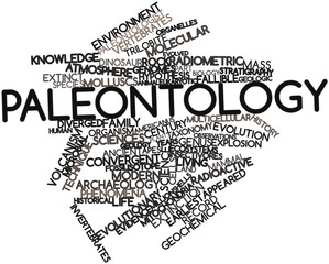 Word cloud for Paleontology