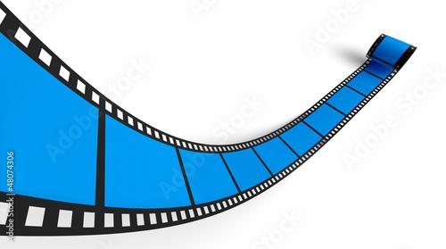 Blanko Filmrolle Blau 02