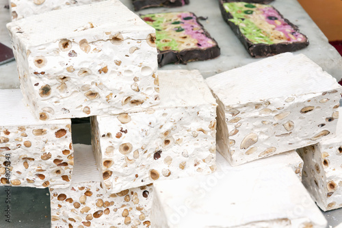 slices of nougat