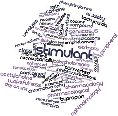 Word cloud for Stimulant