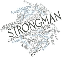 Word cloud for Strongman