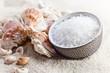 Sea salt and cockleshells