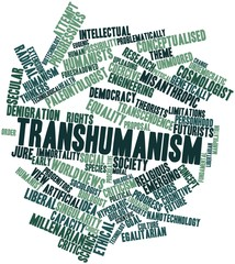 Word cloud for Transhumanism