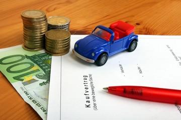 Kaufvertrag über ein Sportwagen ohne Verdeck