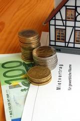 Mietvertrag, Geld, Haus Gewerblicher Vertrag
