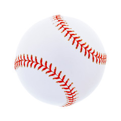 Baseball einzeln isoliert auf weiß