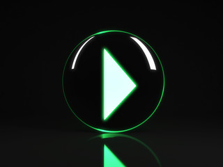 Play Icon Button
