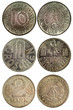 rare vintage coins of germany