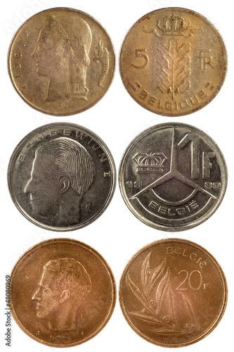 rare coins of belgium