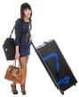 Girl traveler.