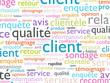 mots relation client qualité satisfaction