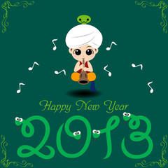 Happy New Year 2013 (Year of Snake)