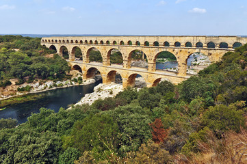 Pont du Gard, Linguadoca Roussillon, Francia