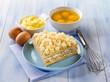 homemade mimosa cake