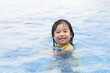 kid swimming
