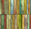 abstract 3d grunge render colored wood timber plank backdrop