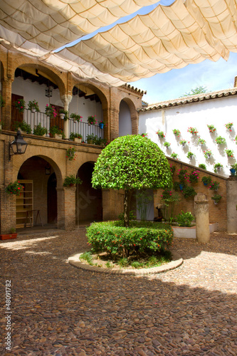 Courtyard of Cordoba,  Andalusia, Spain