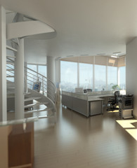 Penthouse Office Detail