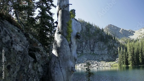 Reveal of Rocky Idaho Mountain