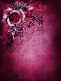 Fototapety Tło retro z gotycką różą