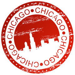 Stamp - Chicago