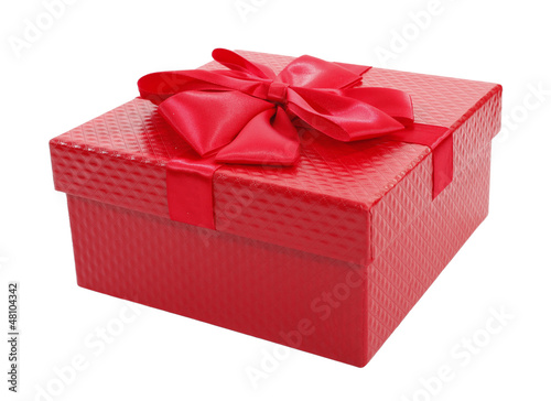 Beautiful red gift