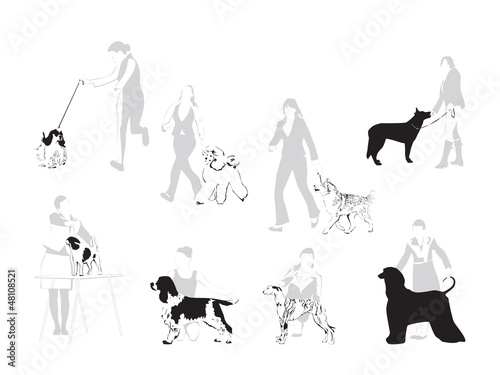 The World of Dog Shows - illustration
