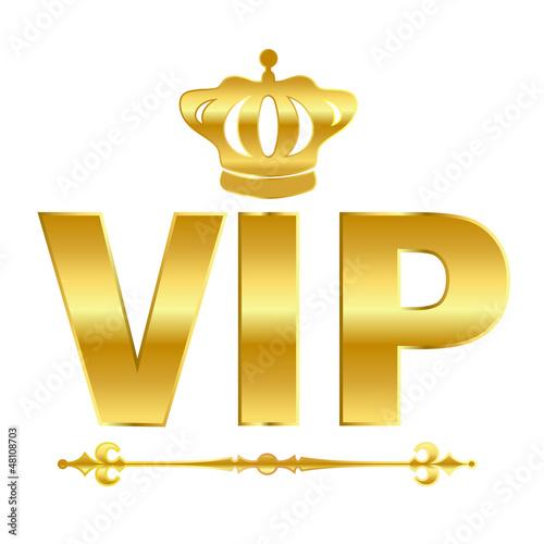 Vector vip emblem