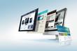 Web design concept - 48109316