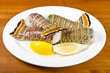 Lobster Tails and Lemon Wedges