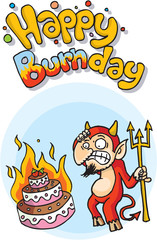 Happy burnday