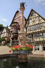 Brunnen am Schnatterloch in Miltenberg