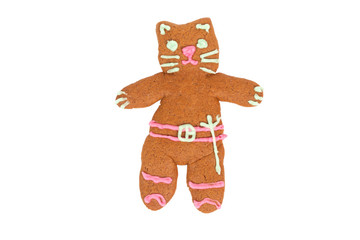 Kitty Softpaws gingerbread cookie