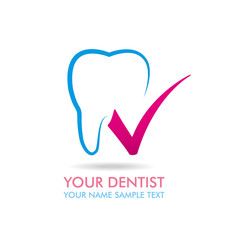 Dentist Brand Pink Check