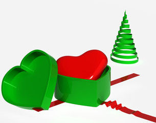 To gift your heart,christmas