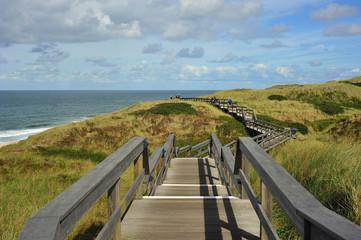 Steg durch Dünen Nordsee
