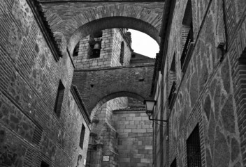 Arches in the old town