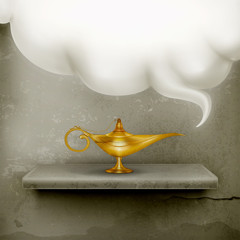 Oil Lamp, old-style