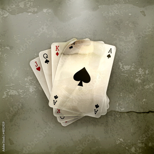 Playing Cards, old-style